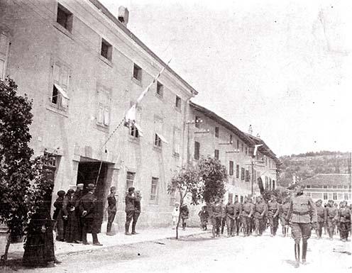 Osztrák–magyar csapatok Medeában 1915-ben