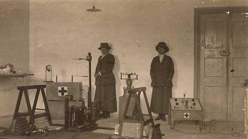 Röntgenvizsgálat a medeai 060-as kórházban
