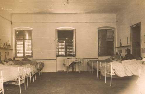 A medeai 060-as kórház tiszti részlege