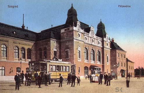Szeged, pályaudvar