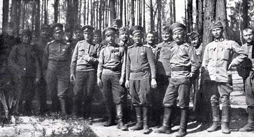 Húsvéti barátkozás, 1916-ban Galuziánál
