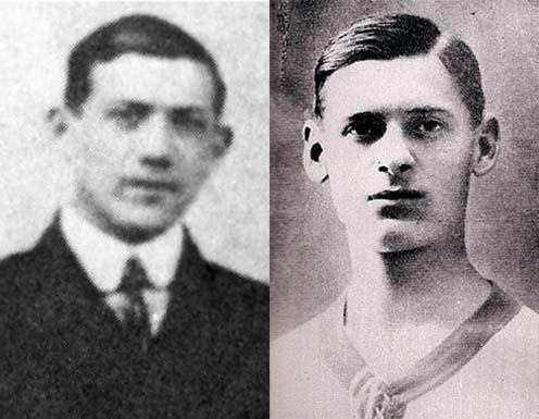 Feldman Gyula és Fritz Alajos (FTC)