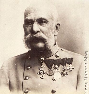 """""""Ferenc Jóska"""" 1910-ben"""