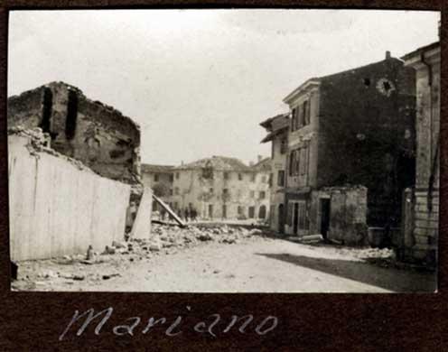 Mariano, effetti della distruzione