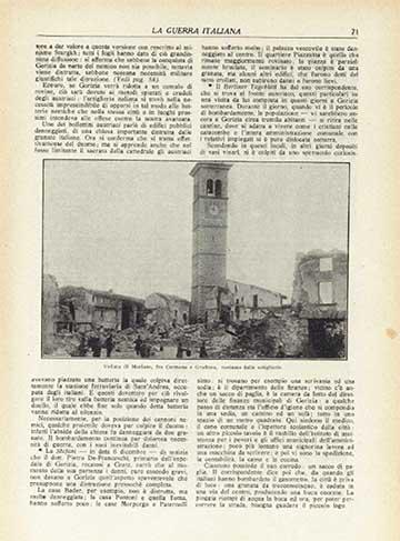Articolo su esplosione a Mariano su rivista La Guerra italiana