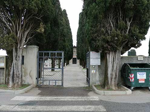 Il cimitero di Mariano oggi