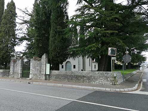 La chiesetta di S. Trinità oggi