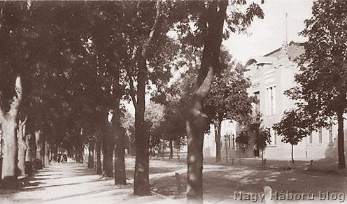 A 4-es honvédek Rulikowski úti laktanyája