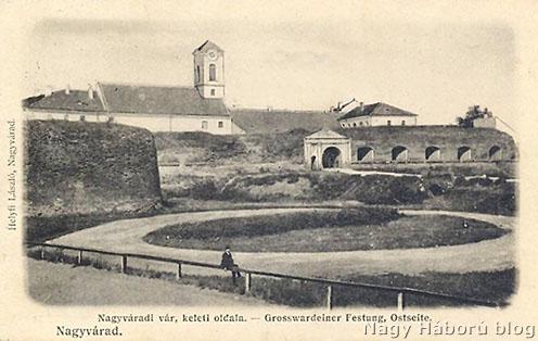 A nagyváradi vár a XX. század elején korabeli képeslapon