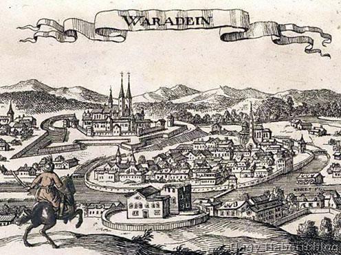 Várad török kori metszeti ábrázolása