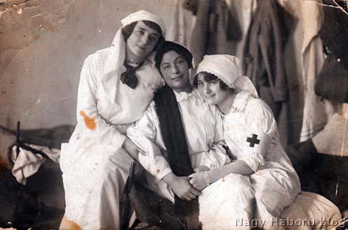 Ápolónők az első világháború idején