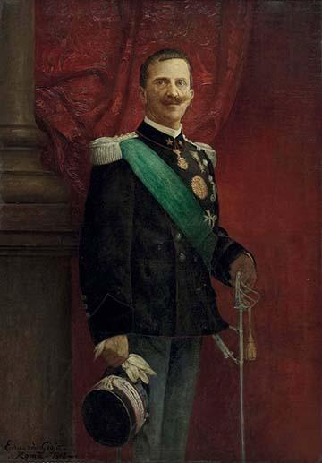 Viktor Emánuel, a király