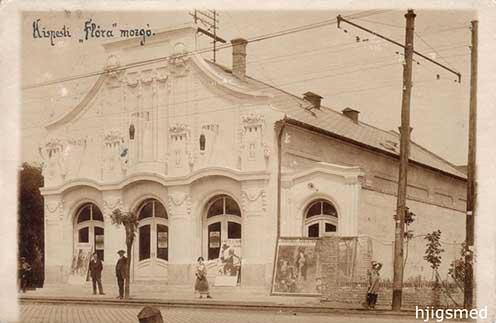 A kispesti Flóra Mozgó 1914 körül készült képeslapon
