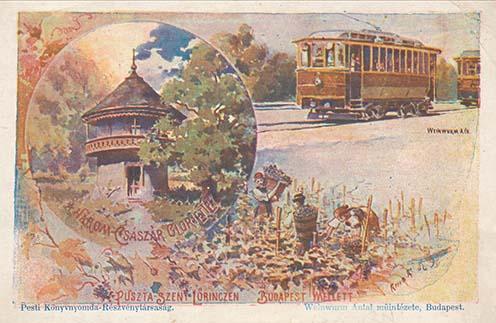 A Gloriette képeslapon, 1900-as évek