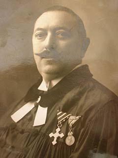 Törteli Lajos (1883–1930) ceglédi evangélikus tábori lelkész