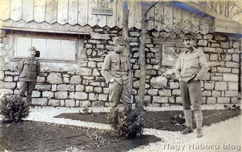 """A szegedi 46-os közös gyalogezred parancsnokságának épülete az """"L"""" körletben"""