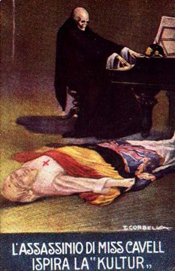 """IV. lap: Miss Cavell meggyilkolása inspirálja a """"Kultur""""-t"""