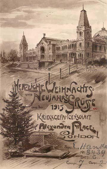 Az 1915-ös karácsonyi – újévi üdvözlőlap-variánsok, Tony Binder szignójával