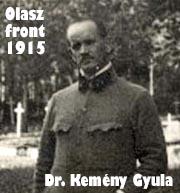 Dr. Kemény Gyula naplója