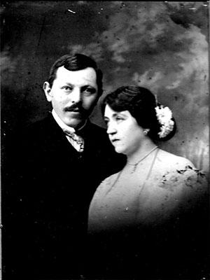 Dr. Herman Géza és felesége, Hirsch Vilma