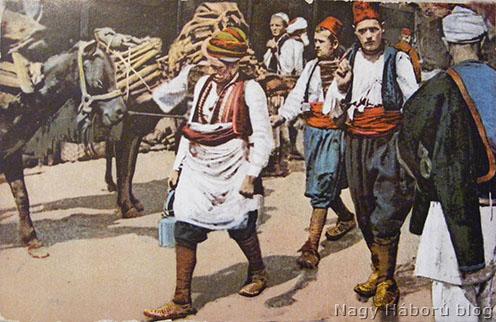 Thomée József szerb frontról küldött egyik lapjának előoldala