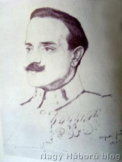Thomée József portréja