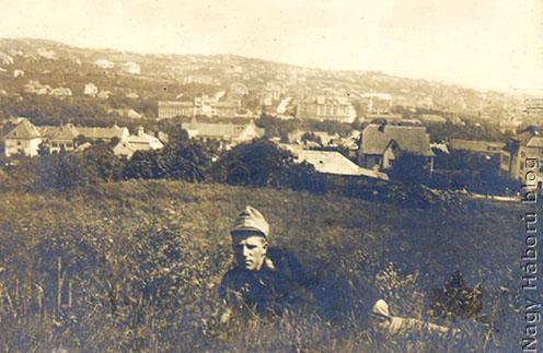 Ismeretlen helyen és időben készült felvétel Kudlik Károlyról