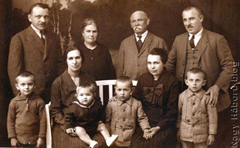 A Kudlik-család a háború után