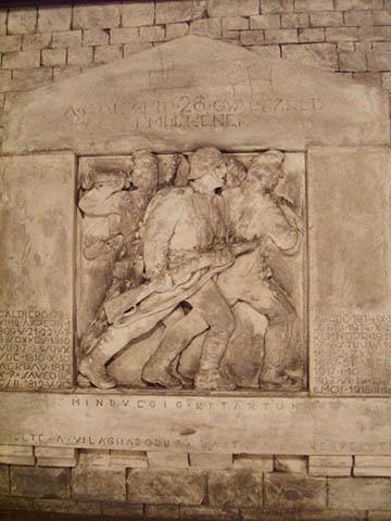 Az emlékmű terve az esztergomi Balassa Bálint Múzeumban