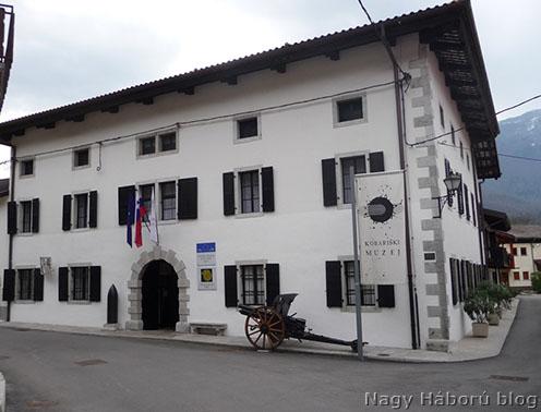 A Kobarid Múzeum épülete