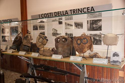 Részlet a redipugliai Hadtörténeti Múzeumból