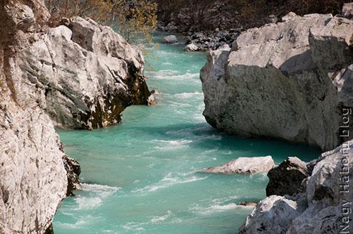 A Soča (Isonzó) ma a raftingosok paradicsoma