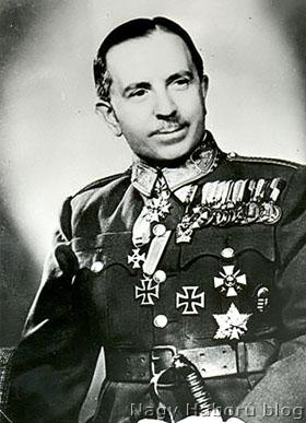 Vitéz báró Ungár Károly vezérőrnagyként