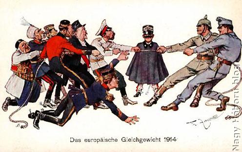 Az európai egyensúly 1914