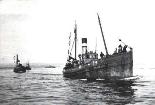 Az otrantói zárban résztvevő brit drifterek