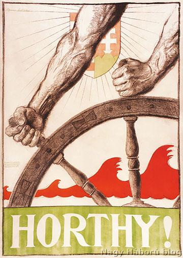 Manno Miltiades plakátja 1919-ből