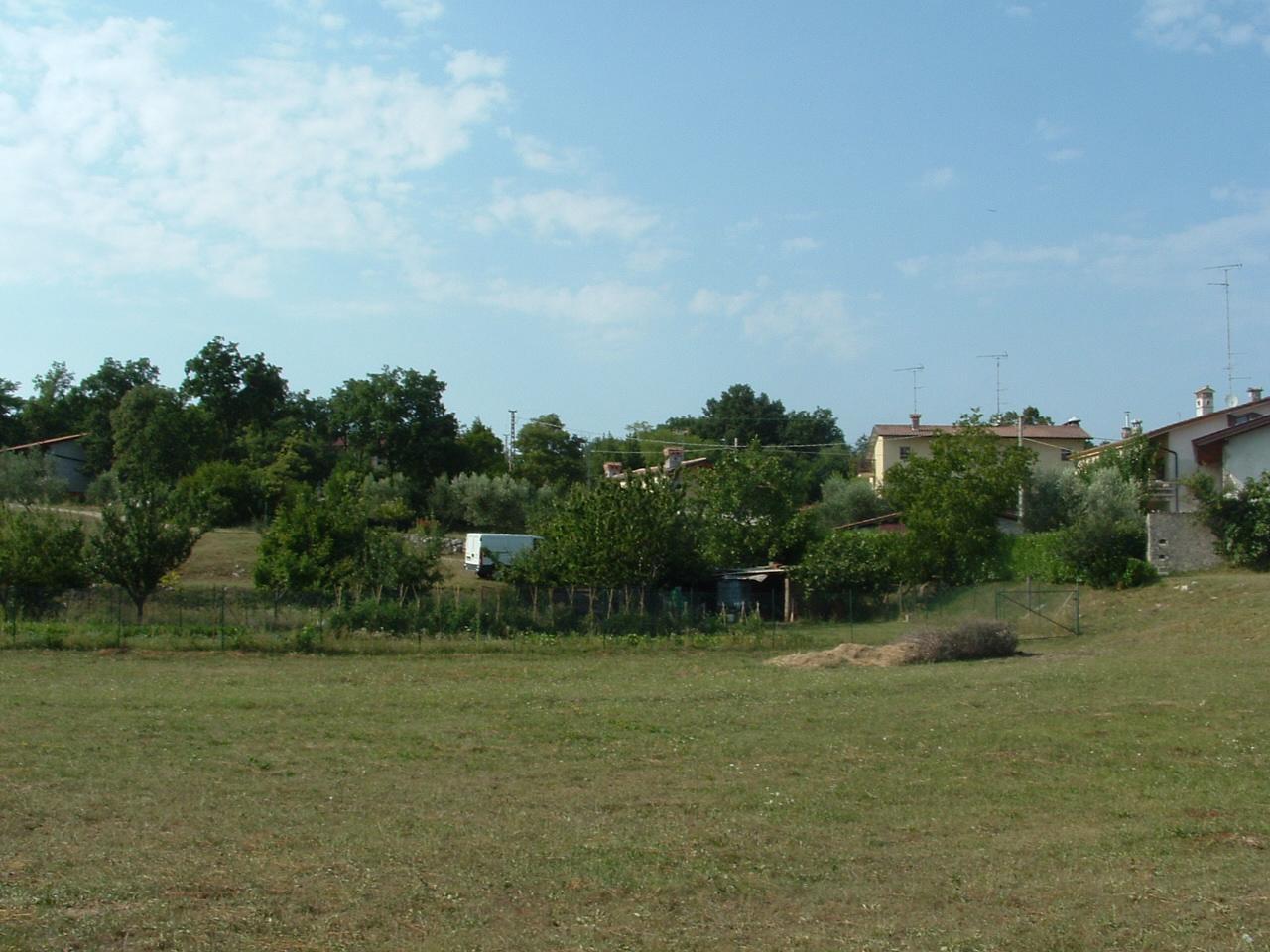Il posto del cimitero militare di una volta nel 2009