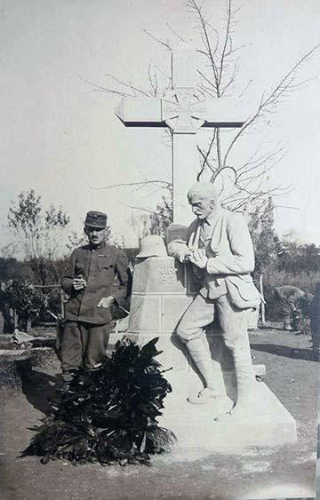 Az emlékmű 1918-ban a felavatását követően