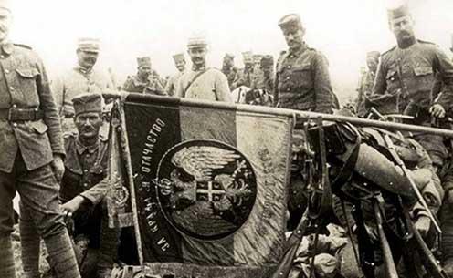Szerb katonák