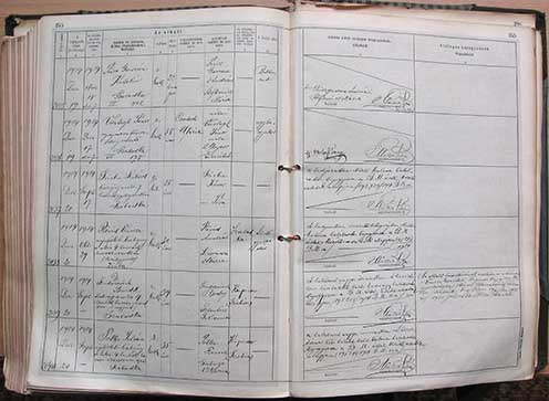 Dr. Szudárevich Benedek halálesetének bejegyzése 2039/1914 folyószám alatt a szabadkai polgári halotti anyakönyvbe
