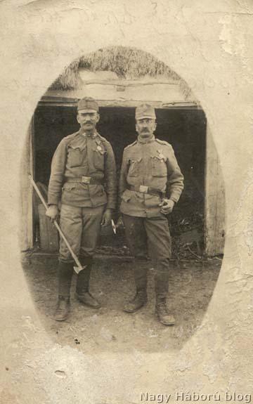 A Faggyas-testvérek: balról János, jobbról Jakab.