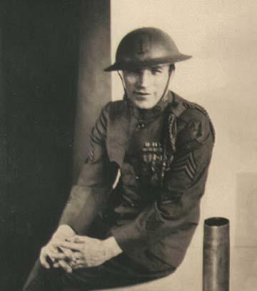 Arch Sándor portréja, vélhetően 1919–1920-ból