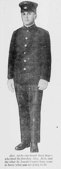 Liberty Loan hirdetés részlete a South Bend News-Times 1918. 09. 18. számából