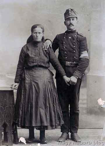 Paprika István feleségével, Cs. Felső Juliannával