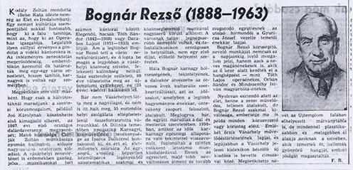 Bognár Rezső
