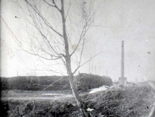 A Bebessi-téglagyár kéménye