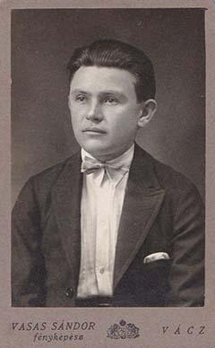 Bertha Gyula civilként