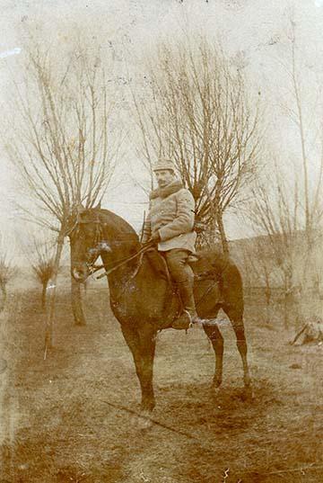 Bertha Géza népfelkelő főhadnagy