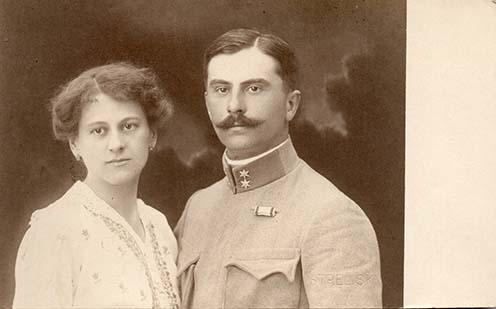 Dr. Bertha Géza és Aixinger Mariska