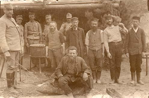 Katonák és galíciaiak